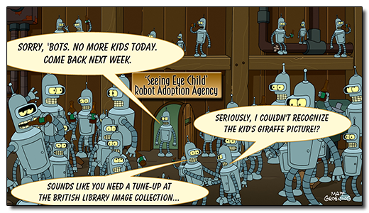 FactMiners: Introducing the 'Seeing Eye Child' Robot Adoption Agency