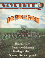 V2.12 Softalk Magazine cover, August 1982