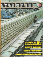 V3.06 Softalk Magazine cover, February 1983